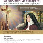 Le istruzioni al discepolo di Santa Camilla Battista da Varano