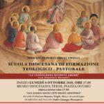 La scuola diocesana inaugura l'anno l'8 ottobre
