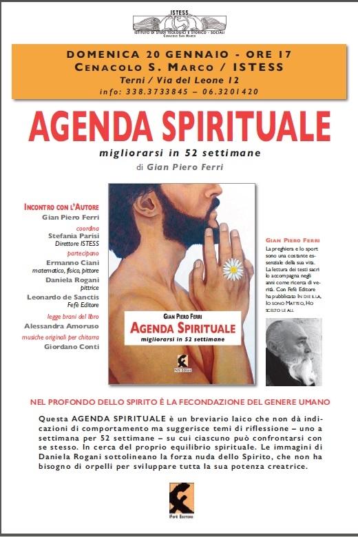Presentazione dell'Agenda spirituale al Cenacolo San Marco