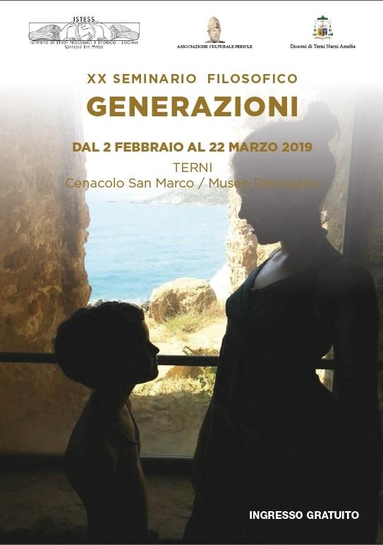 Seminario filosofico 2019 – Generazioni