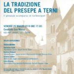La tradizione del presepe a Terni