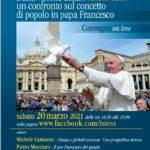 Il popolo secondo il gesuita argentino papa Francesco