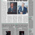 Masterclass del regista Zanussi, le novità del Terni Film Festival