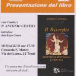 Il risveglio - incontro con padre Antonio Gentili