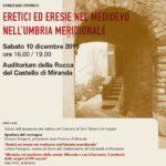 Eretici ed eresie nel medioevo nell'Umbria meridionale