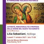 Scuola di teologia, Lectio Magistralis di Lilia Sebastiani